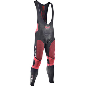 X-Bionic Effektor Power Bib Shorts Heren rood/zwart